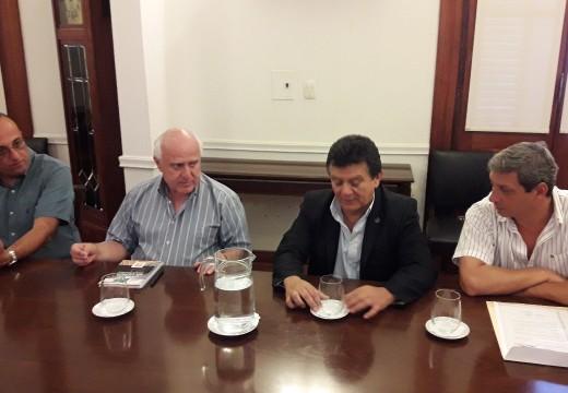 El Diputado Solis se reunió con el Gobernador Miguel Lifschitz