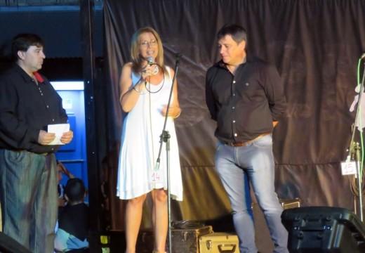 Giaccone asistió a eventos populares en Bustinza, Salto Grande y Lucio V. Lopez.