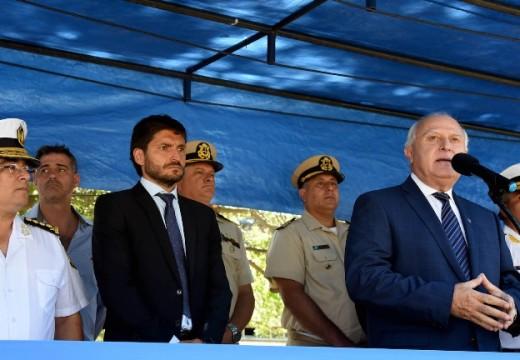 Lifschitz puso en funciones al nuevo jefe de Policía de la provincia.