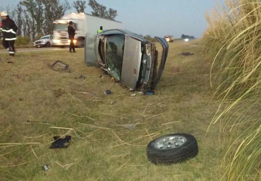 Accidente fatal a la altura del km 393