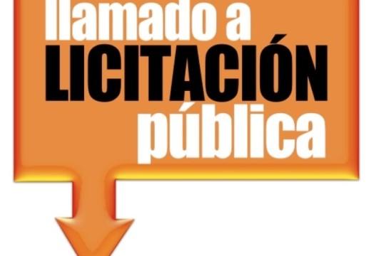 Llamado a Licitación Pública N° 03-2018.