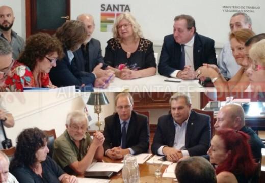 Retoman las paritarias en la provincia y en los municipios.