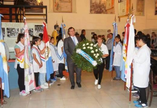 Emotivo acto en el MHM en conmemoración de Malvinas 36 años.