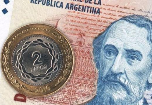 Dos pesos: ahora se podrán canjear en bancos hasta el 31 de mayo.