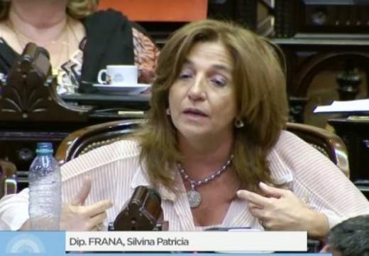 """Silvina Frana y el aborto: """"No voy a acompañar el proyecto»."""