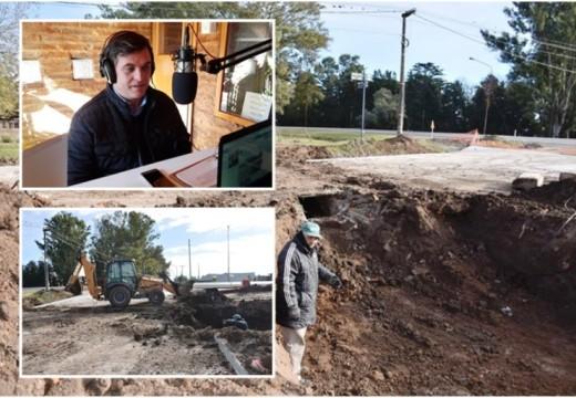 """Meyer: """"Estamos trabajando fuerte en mejorar aún más los desagües pluviales"""""""