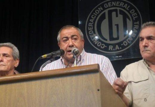 La CGT anunció un paro general de 24 horas para fin de mes.