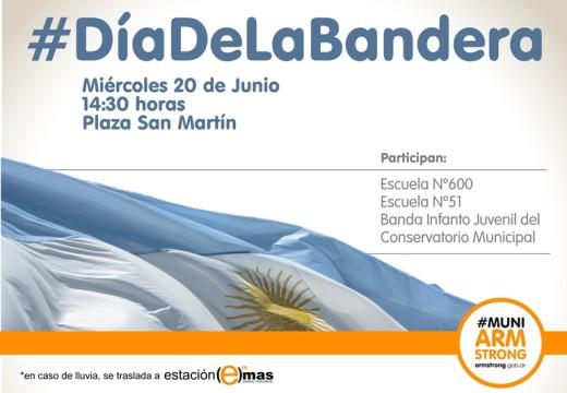 Invitación Acto 20 de Junio Día de la Bandera.