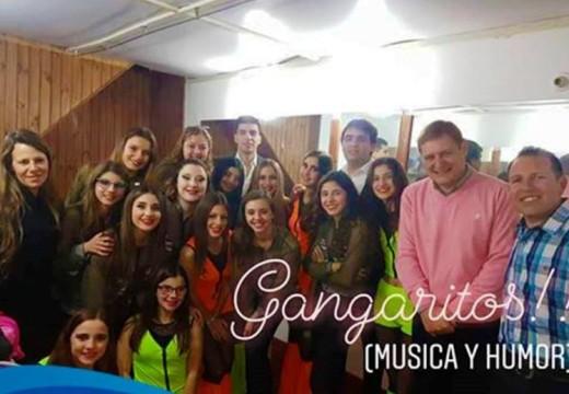 Gangaritos festejó los 100 shows a pura Música y Humor en la Sala Iris Marga.