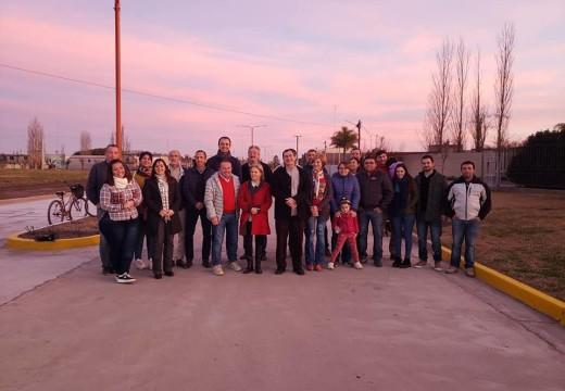 Se inauguraron dos cuadras de pavimento al norte de nuestra ciudad.