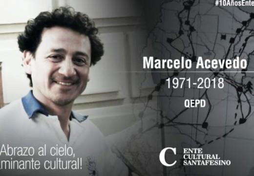 Fallece en un choque Marcelo Acevedo, reconocido referente cultural de Correa.