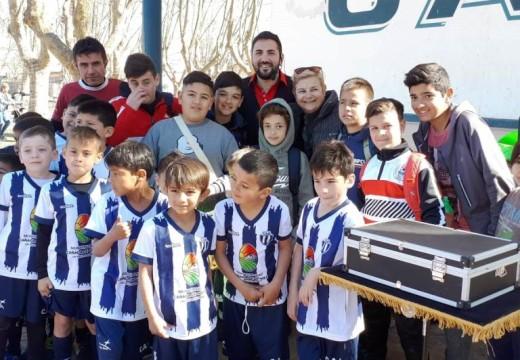 Cañada de Gómez. Apoyo del municipio al Club América.