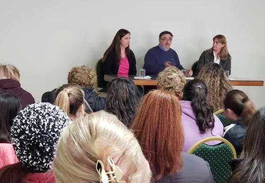 La Biblioteca Popular Sarmiento organizó una charla sobre Enfermedades de Transmisión Sexual.