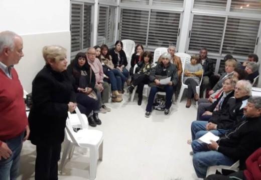 Clérici particpó de reunión informativa en nueva comisaría 1° de zona norte.