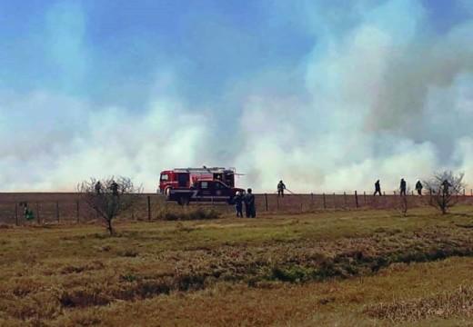 La Asociación de Bomberos Voluntarios solicita que se evite realizar quemas.