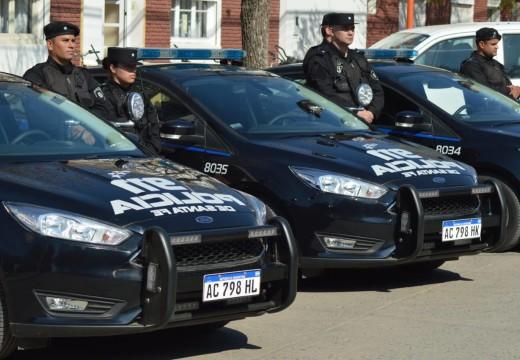 Entregaron patrulleros inteligentes y uniformes para todos los efectivos policiales