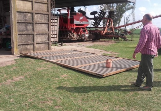 Armstrong. Accidente laboral en Zona rural.
