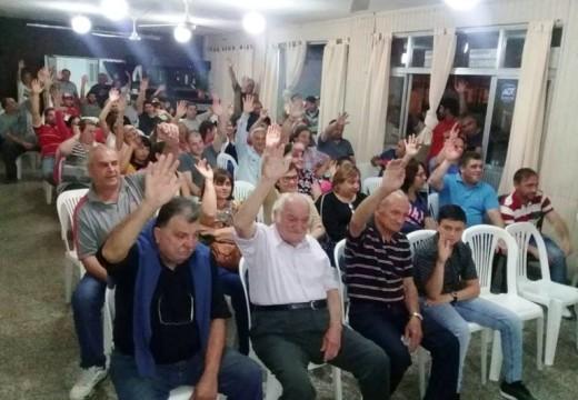 En Asamblea del Club Barraca se aprobó la compra de un terreno de 4 Ha.