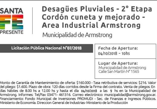 Licitación Pública Nacional N° 07/2018