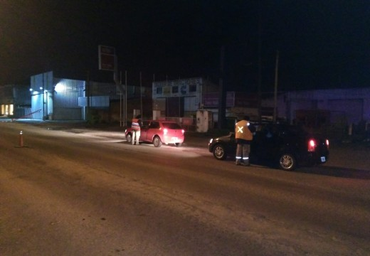 Cañada de Gomez. 12 vehículos retenidos en controles de alcoholemia.