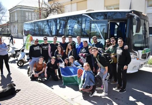 Estudiantes Cañadenses rumbo al Festival Internacional de Cine de Puerto Madryn