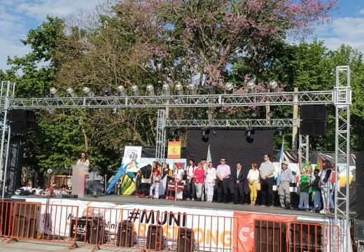 Con Gran Éxito se llevó a cabo la 27ª Feria de Colectividades.
