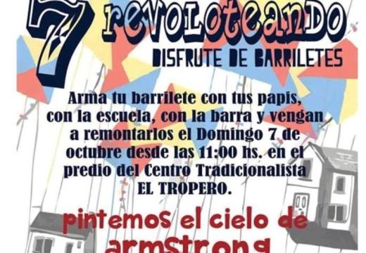"""Rotary Club Armstrong  invita a la 7ma Edición de """"Revoloteando""""."""