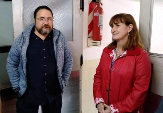 La Ministra de Salud Andrea Uboldi de gira por el Dto. Belgrano.