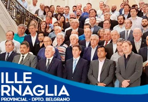 El Senador Cornaglia participó de la presentación del Acuerdo Santafesino.