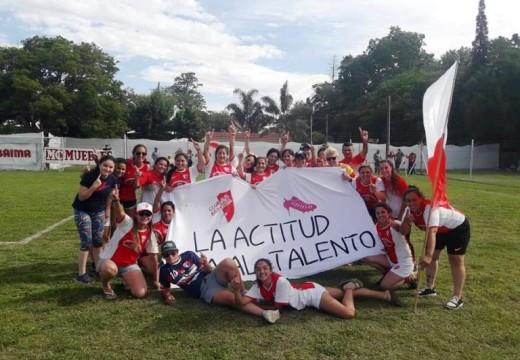 Barraca campeón Torneo Clausura 2018 Liga Cañadense fútbol femenino.