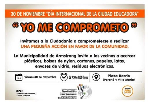 Día Internacional de la Ciudad Educadora.