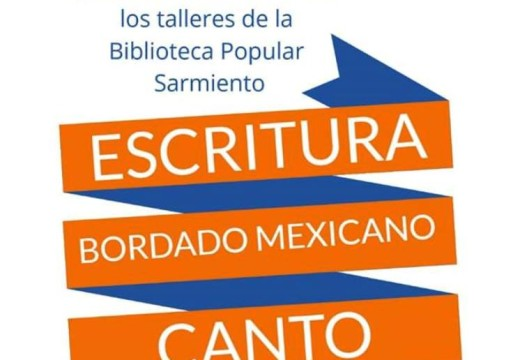Hoy Muestra de Escritura, Bordado Mexicano y Canto.