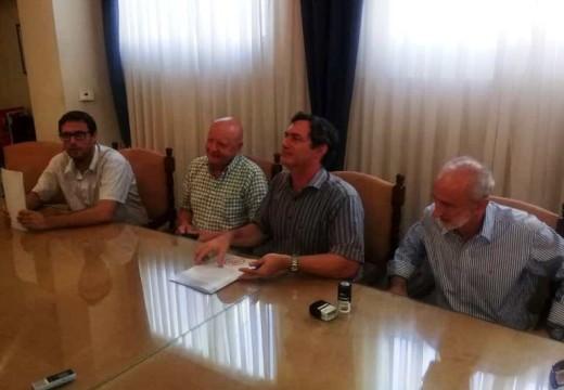 El municipio firmó un convenio para obras en el Área Industrial.