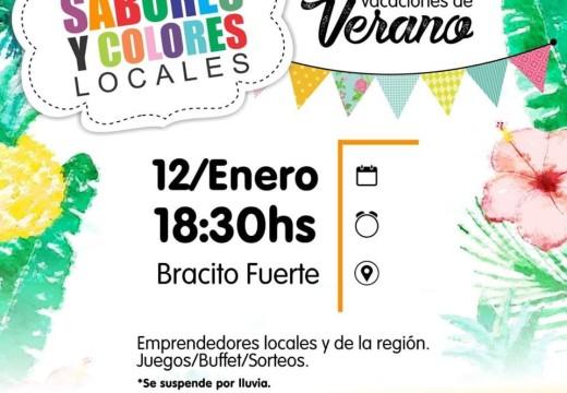 Armstrong. Feria de Colores y Sabores en Verano.