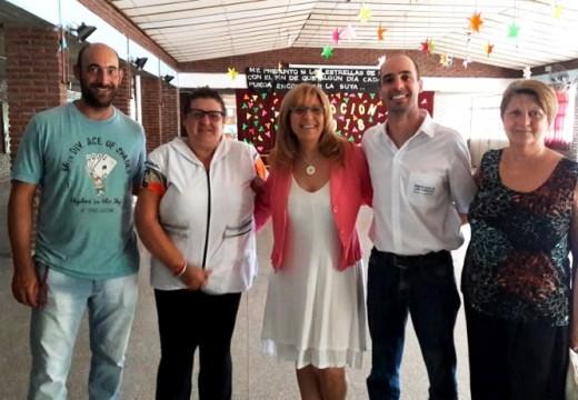 La Dip. Giaccone visitó comunidades del Centro Santafesino.