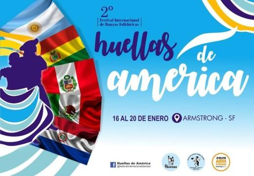 Cuenta Regresiva:  2° Festival Internacional de Danzas Folclóricas «Huellas de Américas»