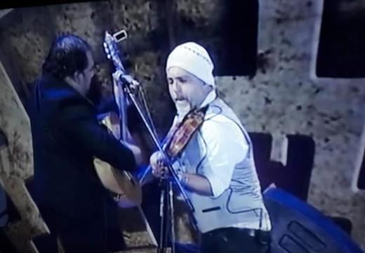 Leandro Lovato junto a sus músicos deslumbraron en el escenario de Cosquín.