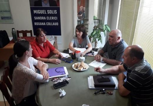 Las Parejas. Reunión entre funcionarios provinciales y referentes Socialistas del Dto. Belgrano.