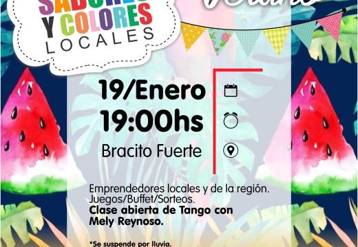 Feria de Sabores y Colores 19 de enero.