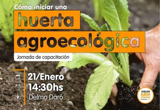Armstrong. Capacitación sobre Huertas Agroecológicas.