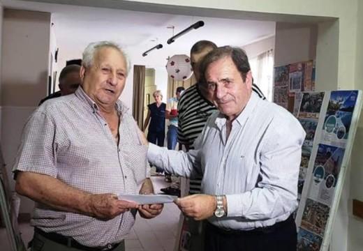 """El Diputado Eggiman visitó el Centro de Jubilados y Pensionados """"Avatares""""."""