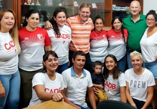 El Senador Cornaglia participó del homenaje a fútbol femenino del Club Barraca.