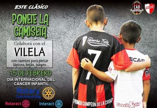 Nueva Campaña Solidaria de Rotary Club Armstrong «Ponete la Camiseta».