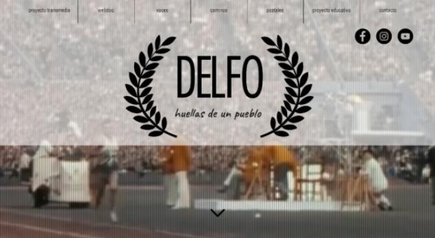 Jóvenes de la ciudad realizan proyecto transmedia sobre la vida de Delfo Cabrera