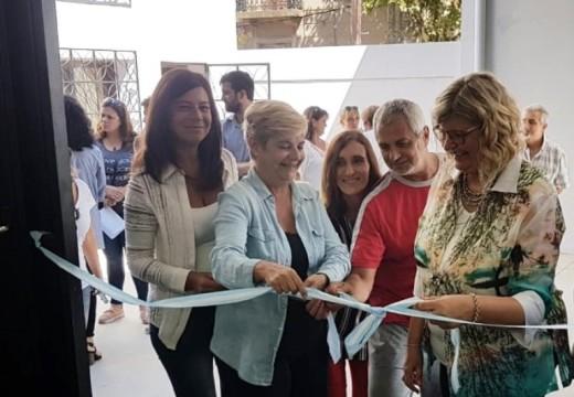 Clérici inauguró obras en el CEF junto a la Ministra de Educación.