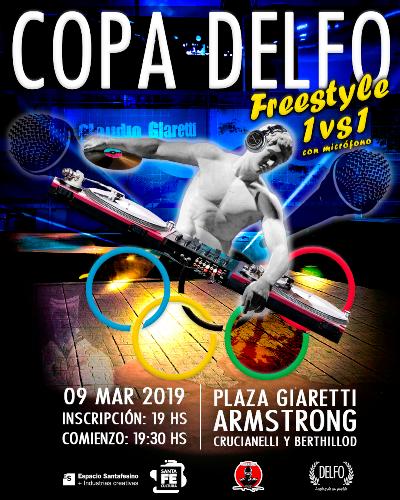 Armstrong. Copa Delfo- Freestyle 1vs1 en Plaza Giaretti.