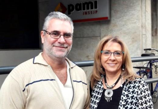 Importante gestión en PAMI Rosario de la diputada Giaccone junto al Dr. Alesandrelli