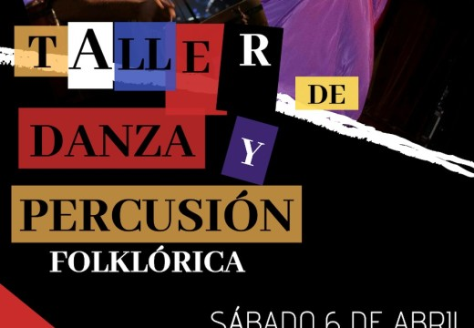 Taller de danza y percusión de raíz folklórica