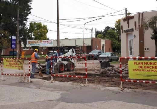 Cañada de Gomez. Municipio realiza trabajos en diferentes calles de la ciudad.