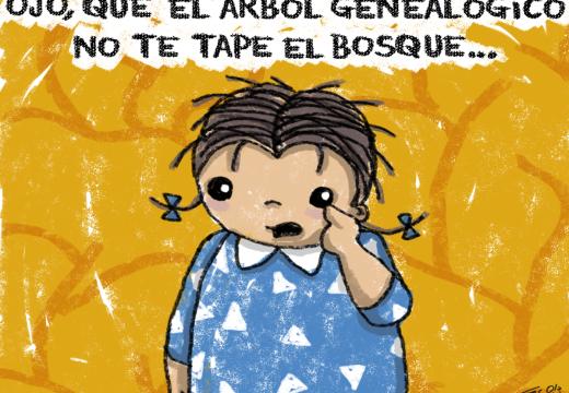 De repente René: «Árbol genealógico» – Por Fer Ola